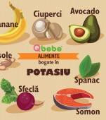 11 alimente foarte bogate în potasiu