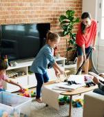 Cum să îți păstrezi locuința curată atunci când ai copii