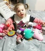 Fetița ei nu lua deloc în greutate. A ajuns cu ea la medici și acum vrea ca toți părinții să fie mai atenți la copiii lor