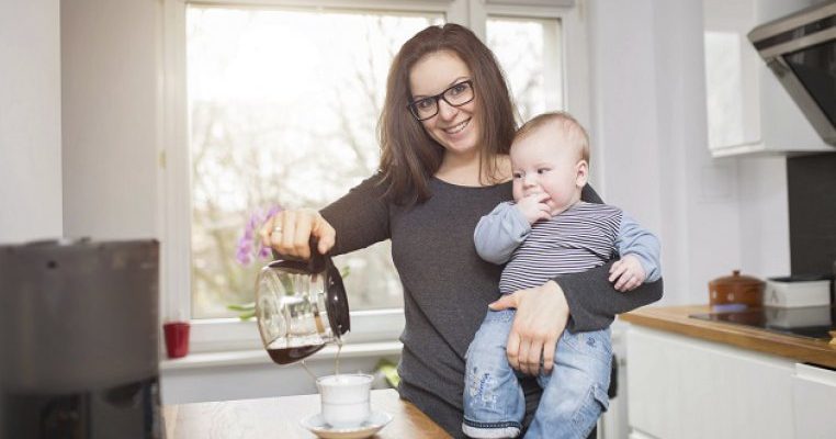 Cafea inainte de nastere