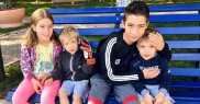 Adriana Stere are 4 copii