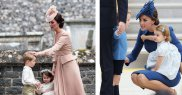 Kate Middleton il linisteste pe printul George