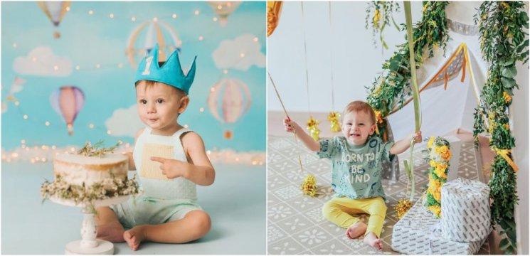 Băiețelul lui Tily Niculae a împlinit 1 an! Ce mare și frumos a crescut mezinul