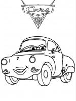 Cars Desene De Colorat Planse Si Imagini De Colorat Qbebe