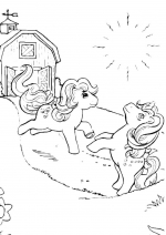 My little pony Caluti veseli