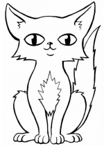 Pisici Desene Si Planse De Colorat Qbebe