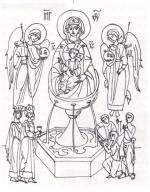 Desene De Colorat Religioase Qbebe Planse Si Imagini De