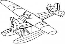 Desene De Colorat Avioane Qbebe Planse Si Imagini De Colorat