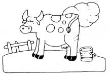 Desene De Colorat Animale Domestice Qbebe Planse Si