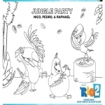 Jungle Party- Nico, Pedro si Raphael