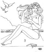 Desene De Colorat Cu Barbie Qbebe Planse Si Imagini De