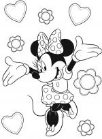 Desene De Colorat Personaje Disney Qbebe Planse Si