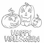 Desene De Colorat Halloween Qbebe Planse Si Imagini De