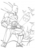 Desene De Colorat Batman Planse Si Imagini De Colorat