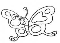 Desene De Colorat Fluturi Qbebe Planse Si Imagini De Colorat