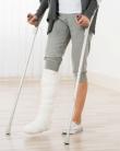 Mama cu piciorul în gips: cum am supraviețuit o săptămână