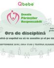 Au început înscrierile la Ora de Disciplină! Seminar gratuit pentru părinții responsabili