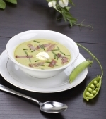 Supa de mazare cu smantana