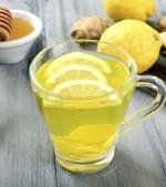 Ceai de ghimbir cu miere si lamaie