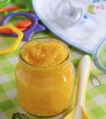 Piure de morcovi pentru bebelusi