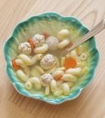 Supa de perisoare cu paste