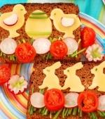 10 Sandvisuri de Pasti pentru copii