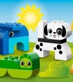 Doua jocuri Lego Duplo cu animalute
