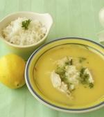 Supa de ou cu orez brun