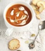 Supa crema de rosii cu dovleac