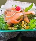 Salata de somon si sparanghel