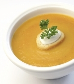 Supa crema de morcovi cu portocale