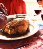 Friptura de pui cu sos de vin