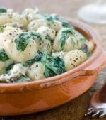 Paste cu spanac si gorgonzola