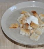 Supa crema de ciuperci rapida si gustoasa