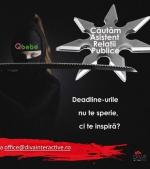 Căutăm Asistent Relaţii Publice. Vino să faci parte din echipa Qbebe!