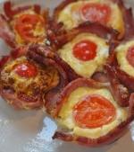 Mic dejun rapid si sanatos: rulouri din oua invelite in sunca