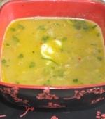 Supa crema cu porumb si naut