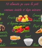 10 alimente pe care le poți consuma înainte și după ce faci mișcare