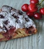Reteta rapida: Prajitura cu cirese din faina integrala