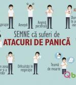22 semne că suferi de atacuri de panică