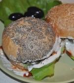 Hamburgeri cu carne de vita la cuptor
