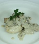 Mancare de pui cu ciuperci pentru 2-3 anisori