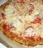 Pizza cu orez si mozzarella