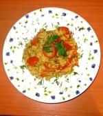 Orez cu curry si rosii