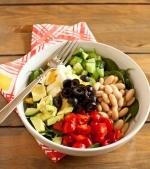 Salata de fasole si avocado