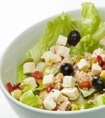 Salata cu ton si branza feta