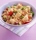 Pui cu fasole si orez (special pentru copiii cu intoleranta la lactoza)