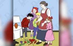 Test de personalitate: Cine a spart vaza? Afla-ti caracterul  in functie de cum judeci acest desen