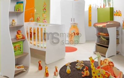 Top 5 cele mai drăgălașe camere pentru bebeluși
