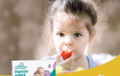 Cum îi asiguri copilului o digestia ușoară